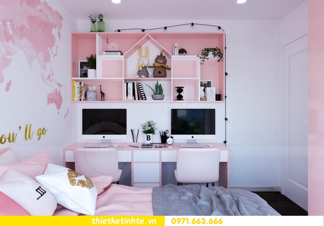 thiết kế nội thất chung cư DCapitale tòa C3 căn hộ 09 12