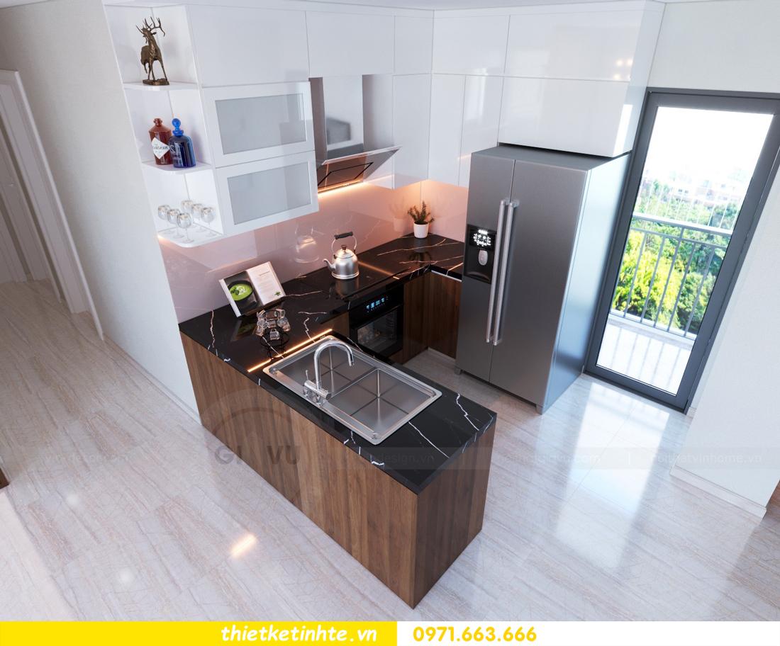 thiết kế nội thất chung cư DCapitale tòa C3 căn hộ 09 2