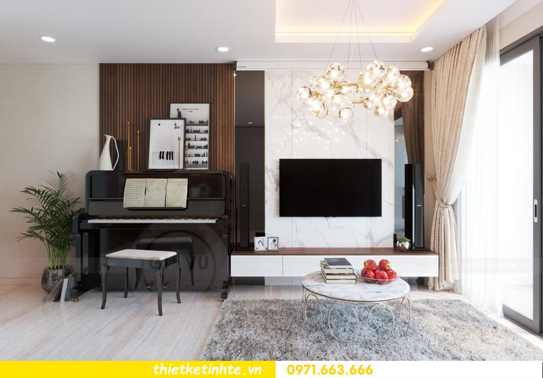 thiết kế nội thất chung cư DCapitale tòa C3 căn hộ 09 5