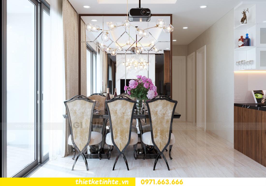thiết kế nội thất chung cư DCapitale tòa C3 căn hộ 09 6
