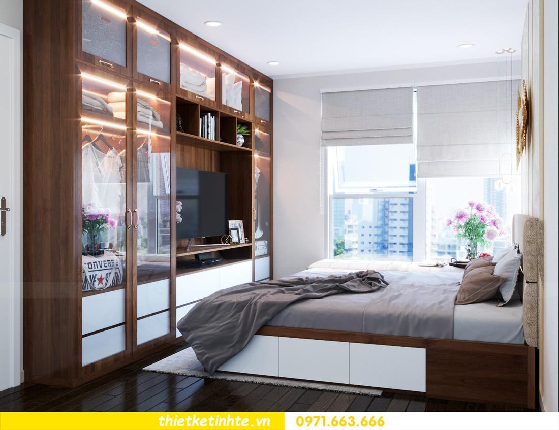 thiết kế nội thất chung cư DCapitale tòa C3 căn hộ 09 7