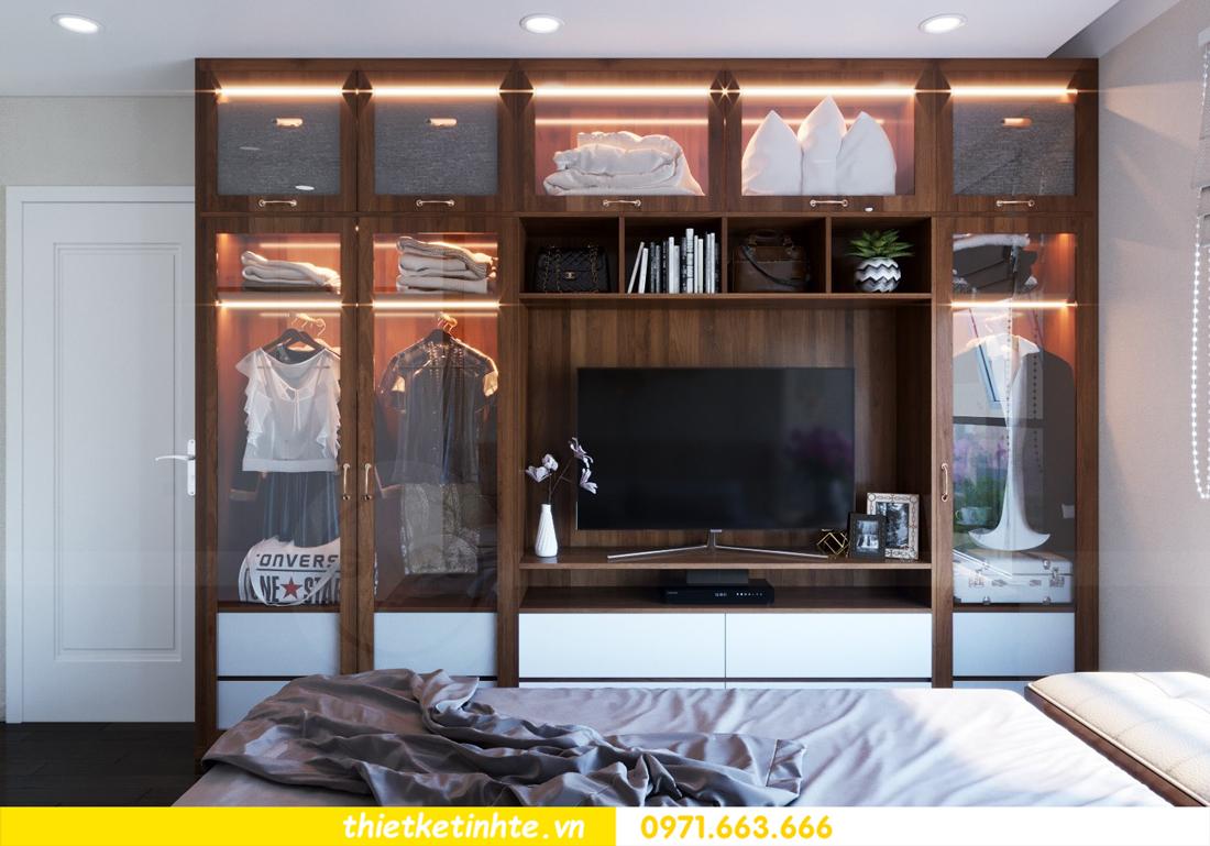 thiết kế nội thất chung cư DCapitale tòa C3 căn hộ 09 9