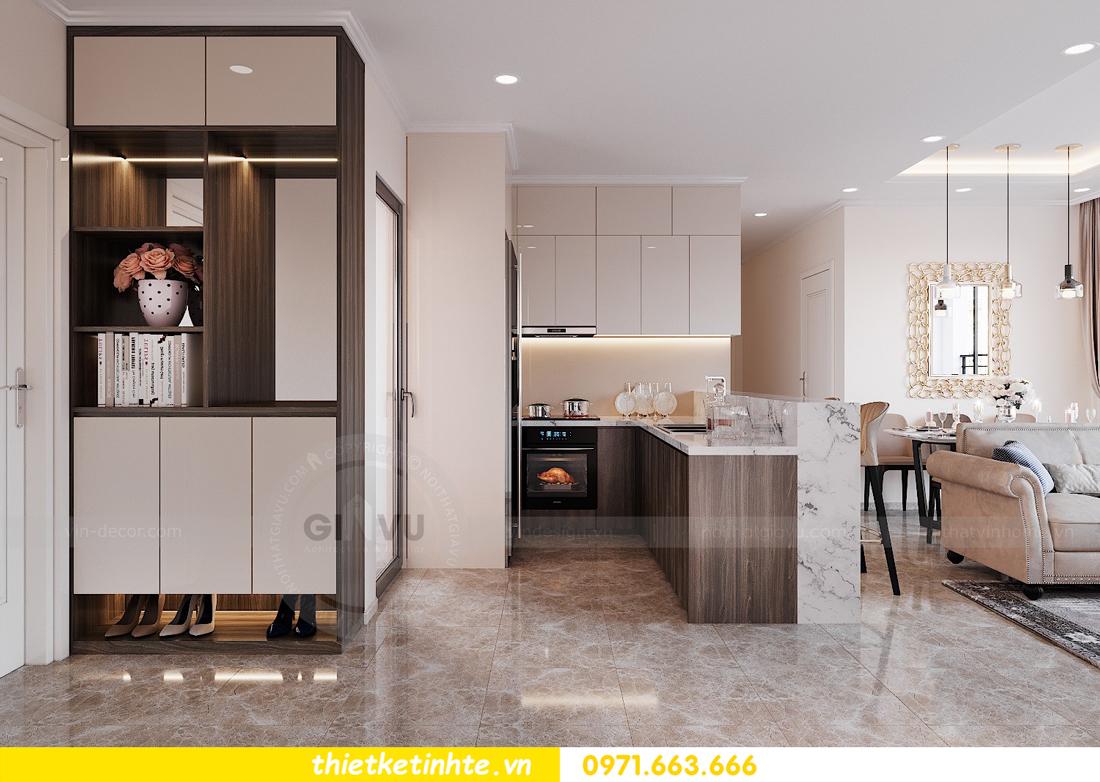 thiết kế nội thất chung cư DCapitale tòa C6 căn 09 nhà anh Kim 01