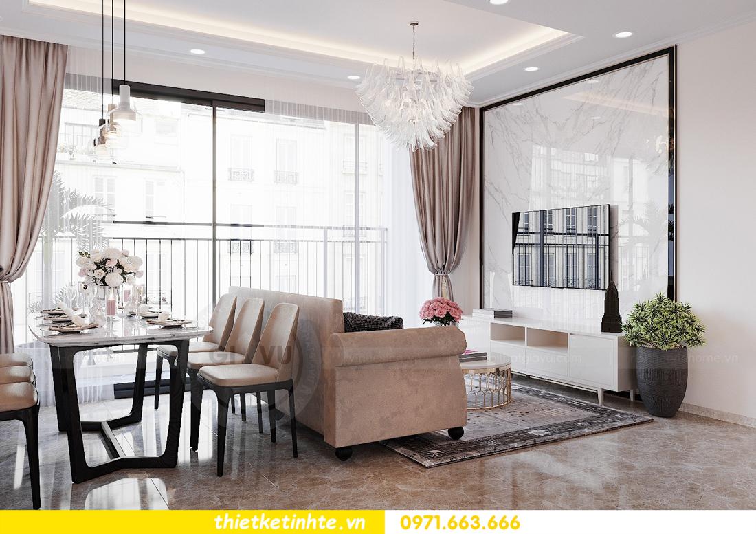 thiết kế nội thất chung cư DCapitale tòa C6 căn 09 nhà anh Kim 02