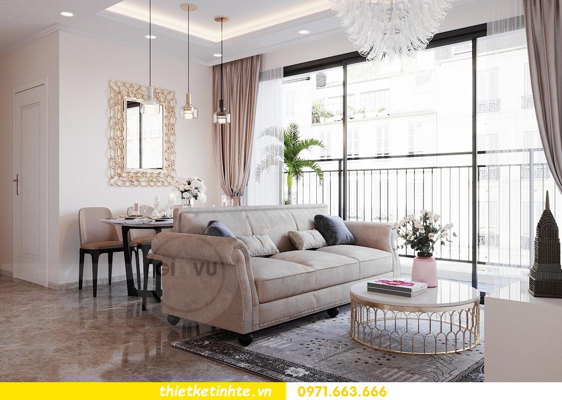 thiết kế nội thất chung cư DCapitale tòa C6 căn 09 nhà anh Kim 04