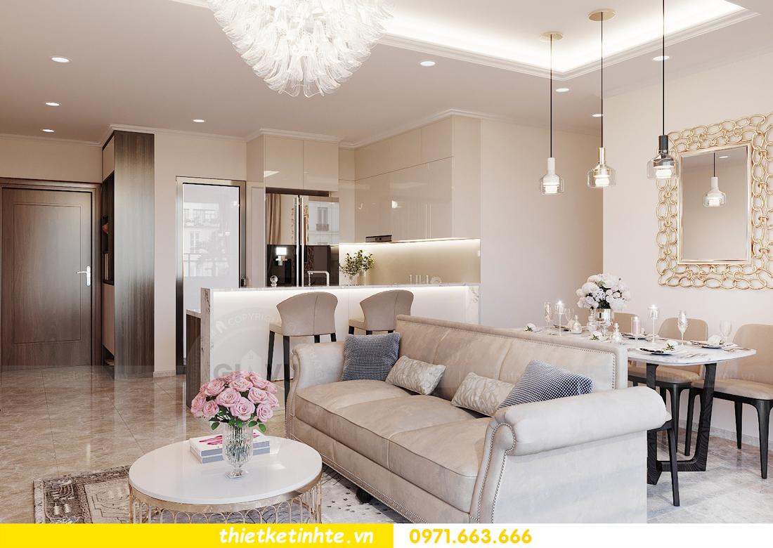 thiết kế nội thất chung cư DCapitale tòa C6 căn 09 nhà anh Kim 05