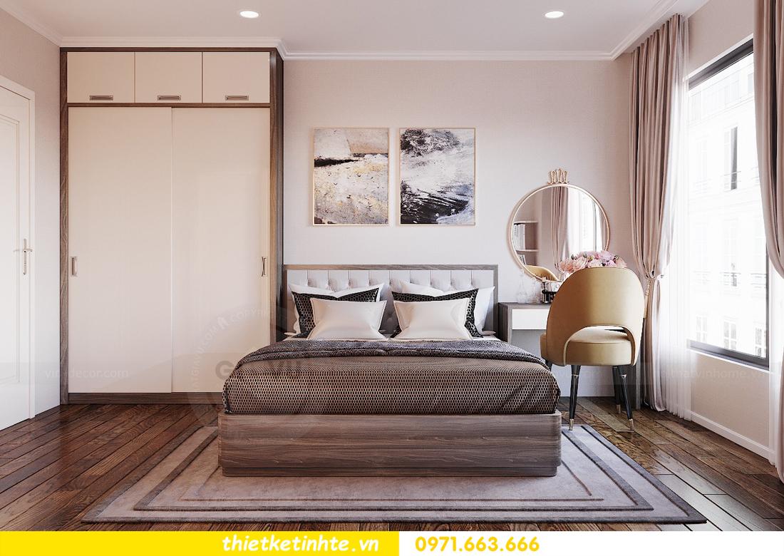thiết kế nội thất chung cư DCapitale tòa C6 căn 09 nhà anh Kim 07