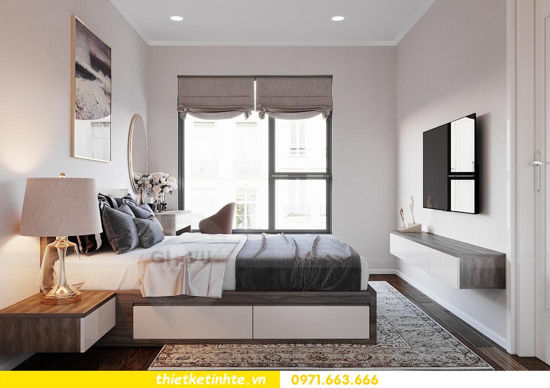 thiết kế nội thất chung cư DCapitale tòa C6 căn 09 nhà anh Kim 08