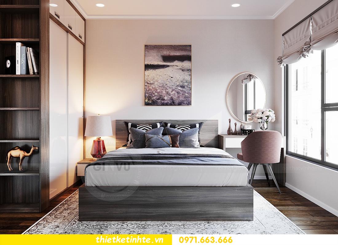 thiết kế nội thất chung cư DCapitale tòa C6 căn 09 nhà anh Kim 09