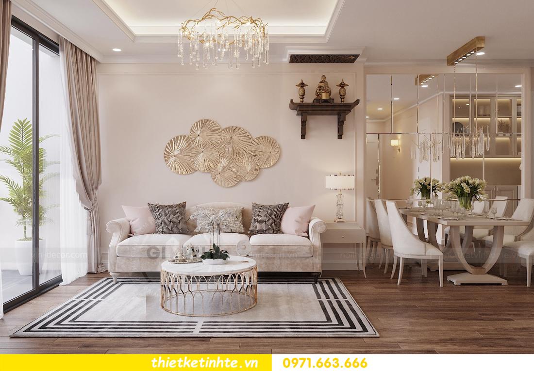 thiết kế nội thất chung cư Skylake theo phong cách Luxury View2