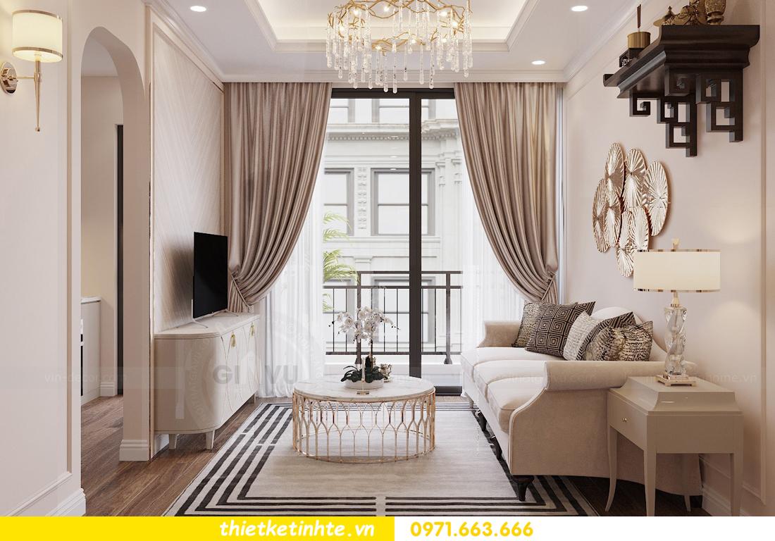 thiết kế nội thất chung cư Skylake theo phong cách Luxury View3