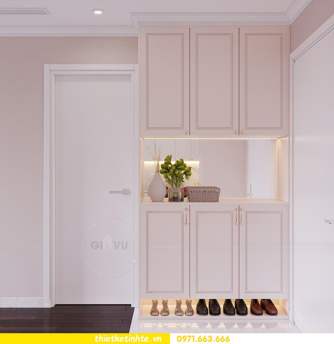 thiết kế nội thất chung cư Sunshine Riverside Tây Hồ nhà chị Hà 1