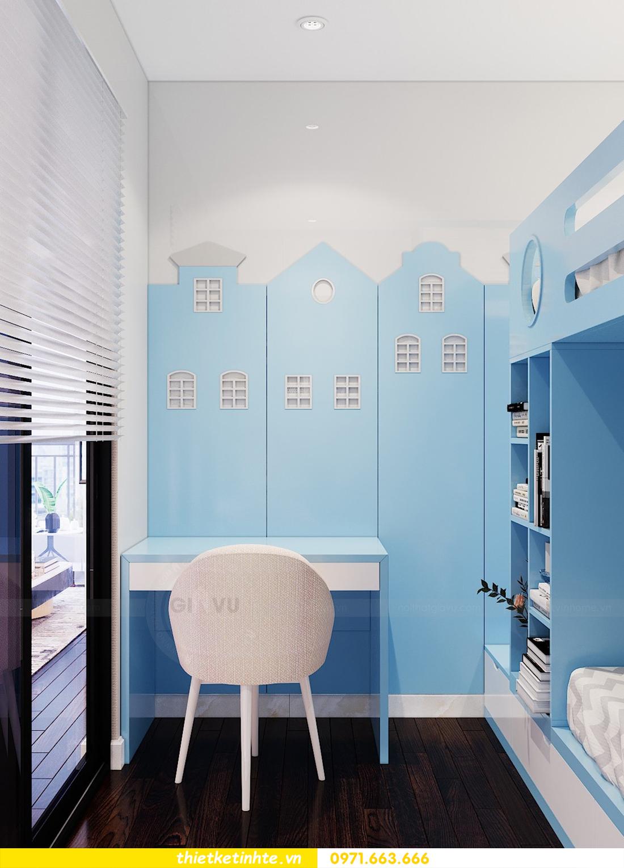 thiết kế nội thất chung cư Sunshine Riverside Tây Hồ nhà chị Hà 10