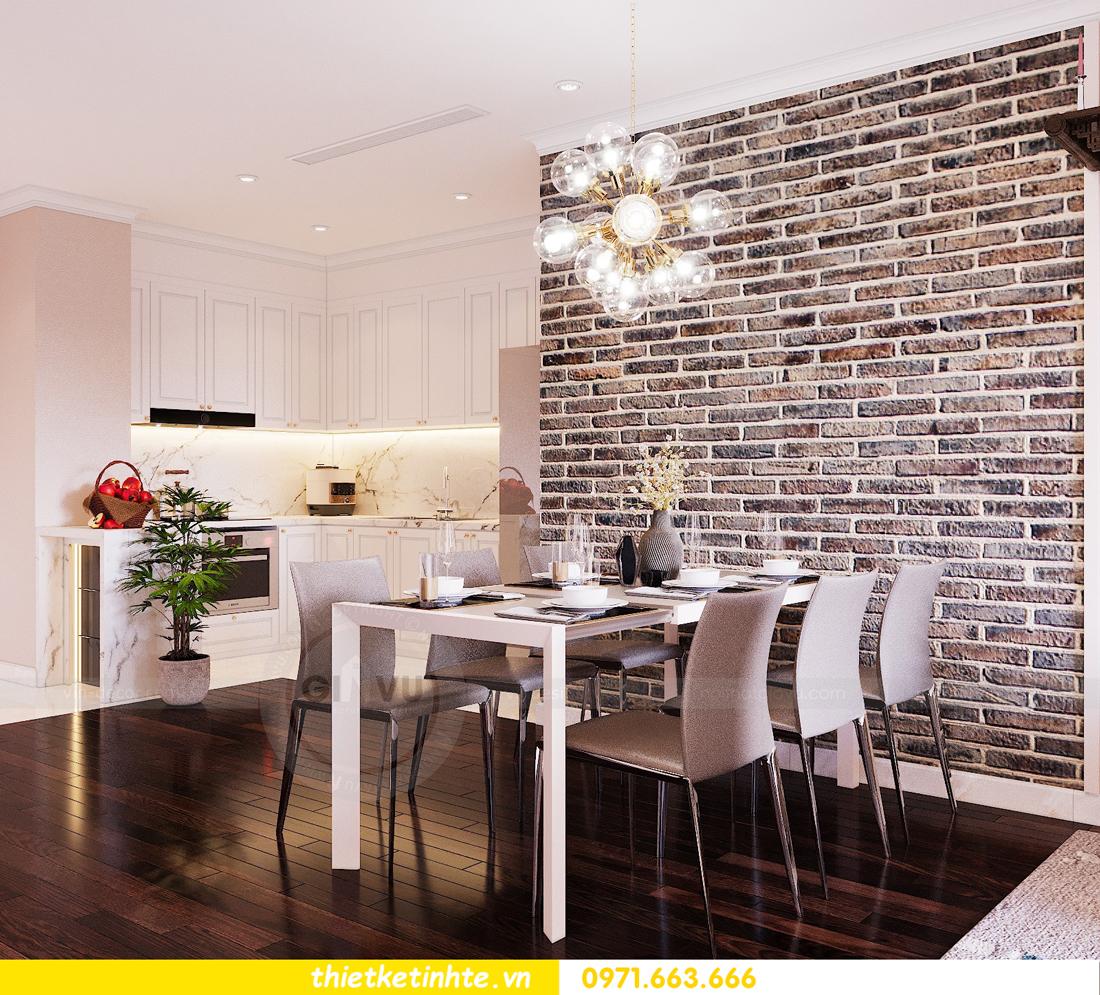 thiết kế nội thất chung cư Sunshine Riverside Tây Hồ nhà chị Hà 2