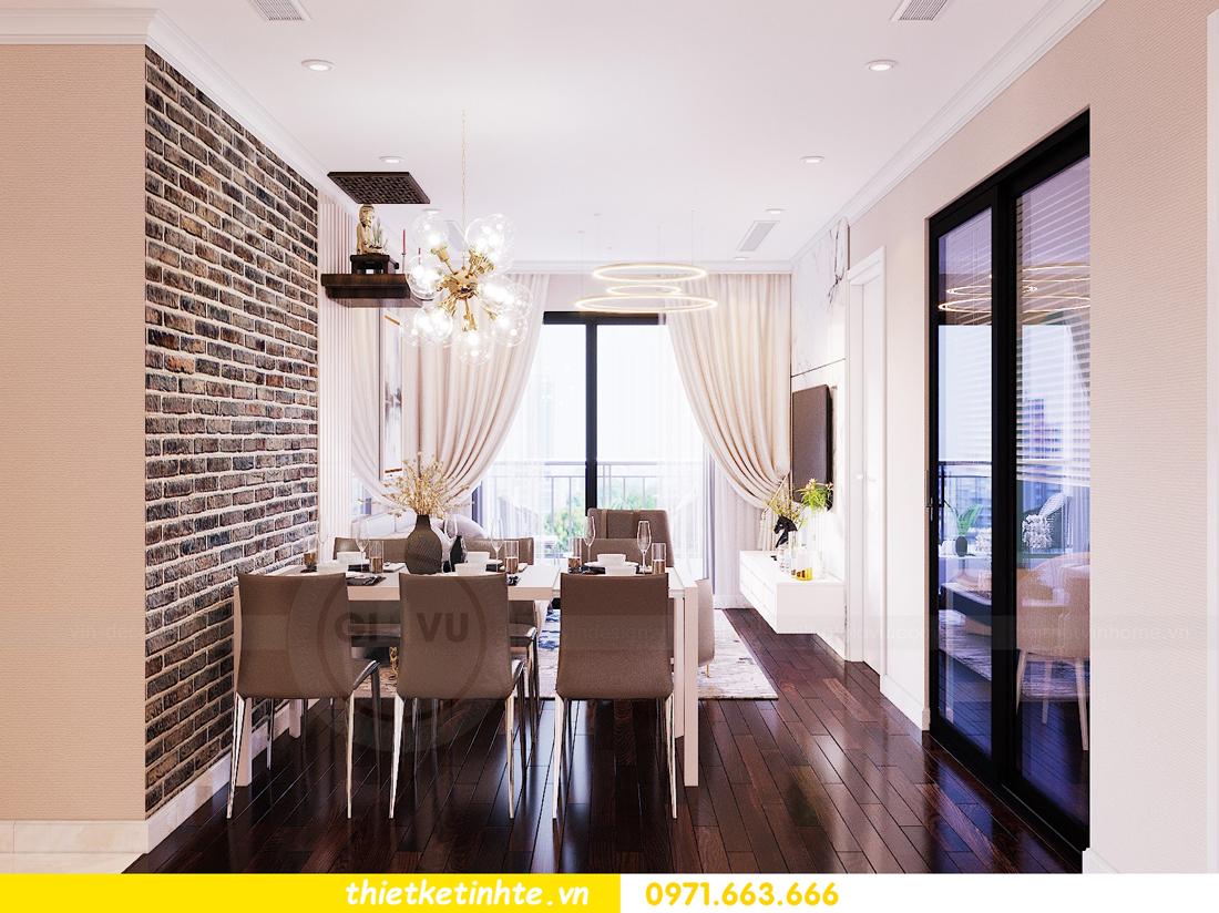 thiết kế nội thất chung cư Sunshine Riverside Tây Hồ nhà chị Hà 3