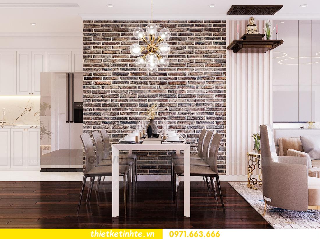 thiết kế nội thất chung cư Sunshine Riverside Tây Hồ nhà chị Hà 4