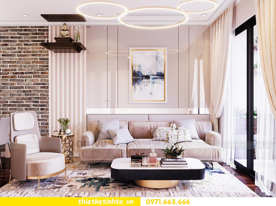 thiết kế nội thất chung cư Sunshine Riverside Tây Hồ nhà chị Hà 5
