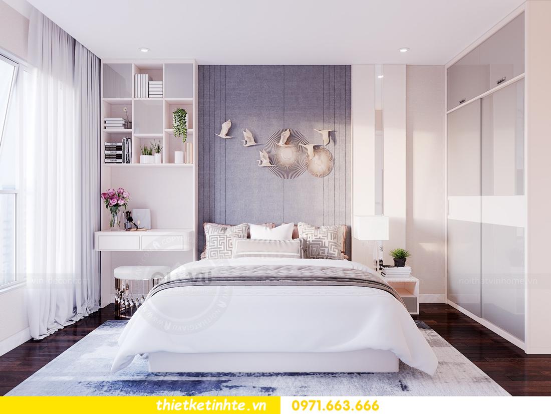 thiết kế nội thất chung cư Sunshine Riverside Tây Hồ nhà chị Hà 6
