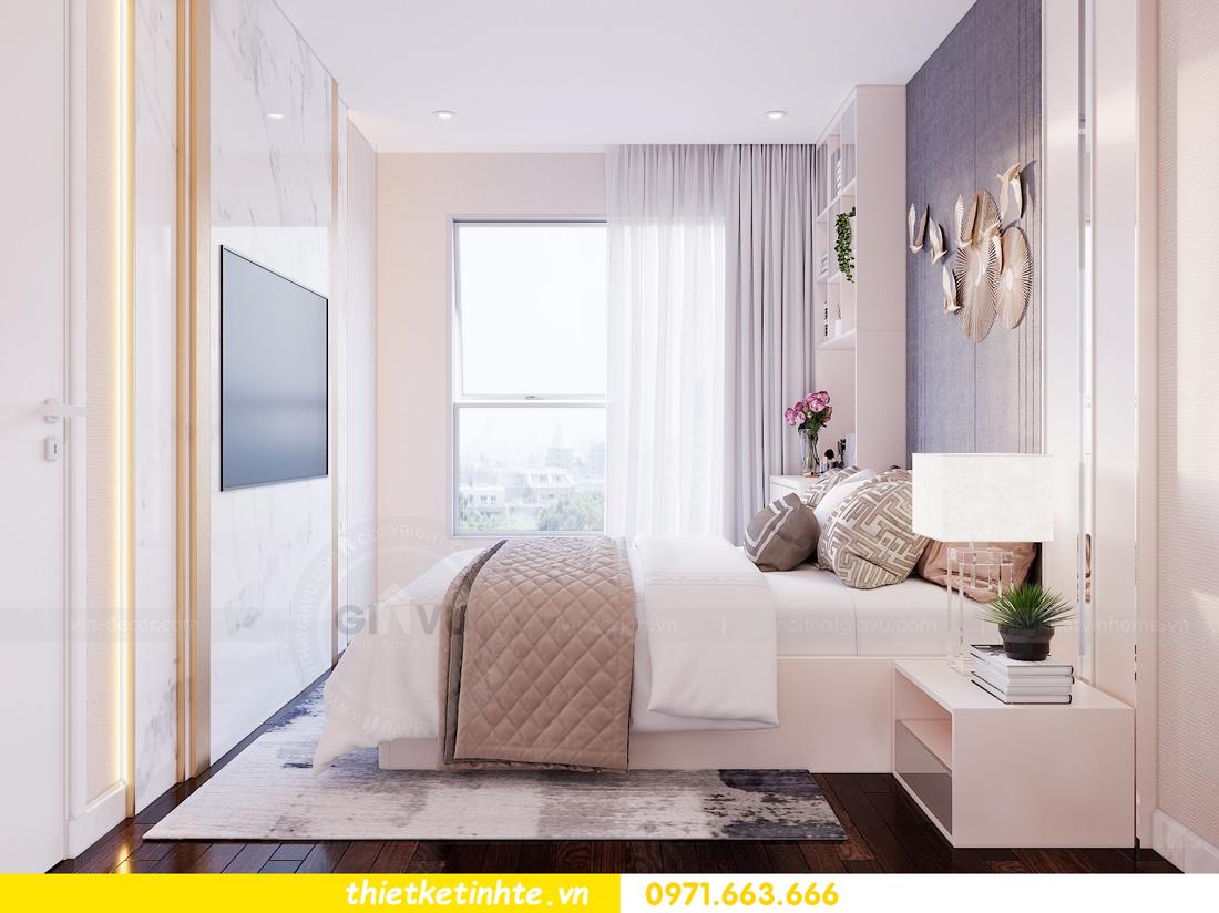 thiết kế nội thất chung cư Sunshine Riverside Tây Hồ nhà chị Hà 7
