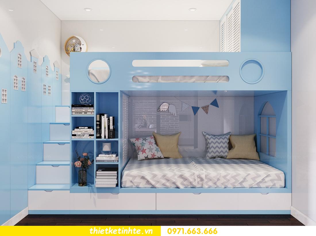 thiết kế nội thất chung cư Sunshine Riverside Tây Hồ nhà chị Hà 8