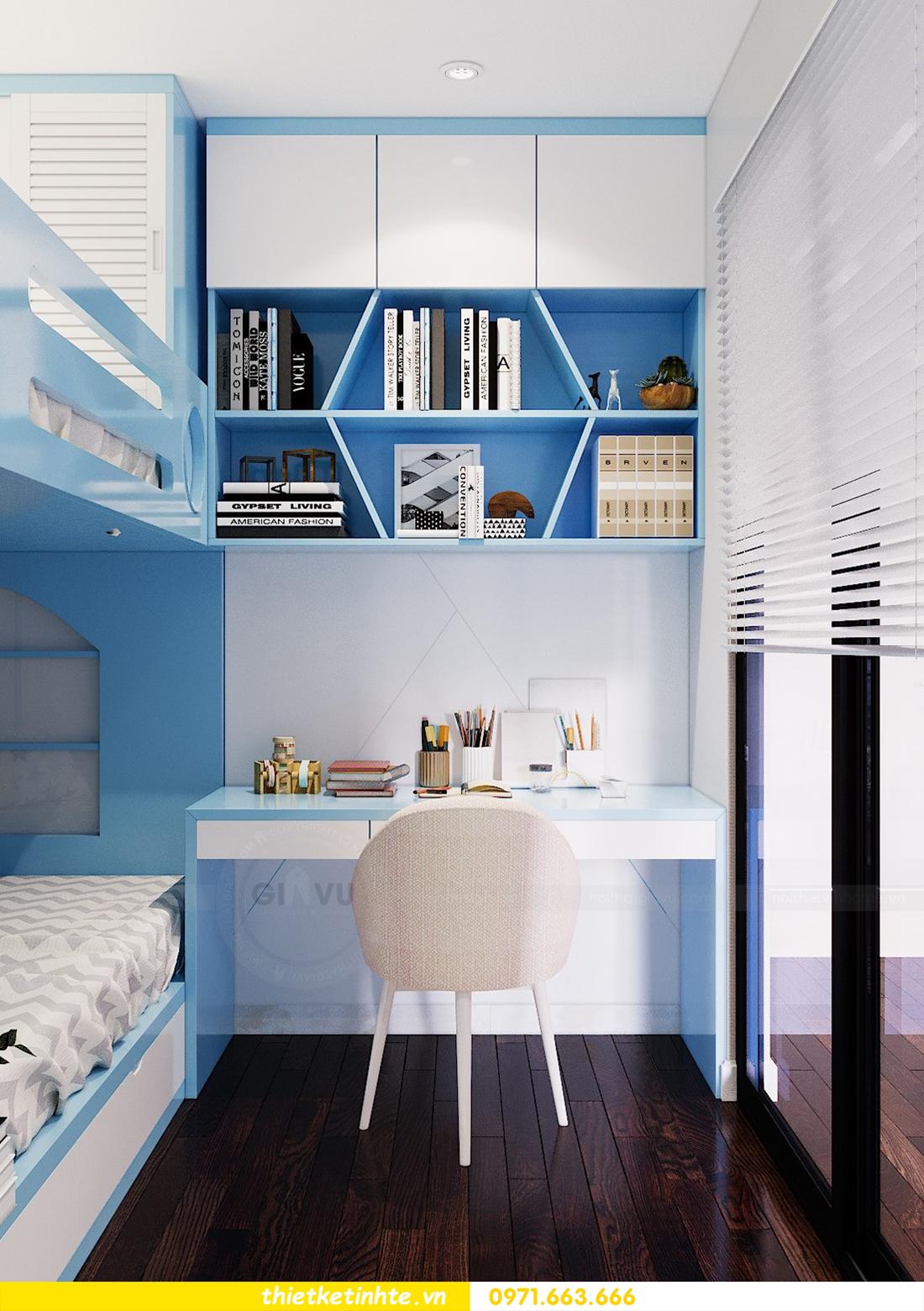 thiết kế nội thất chung cư Sunshine Riverside Tây Hồ nhà chị Hà 9