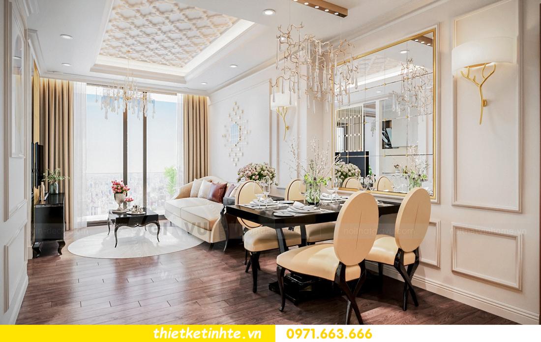 thiết kế nội thất chung cư Vinhomes Skylake tòa S1 căn 08A chị Trang 02