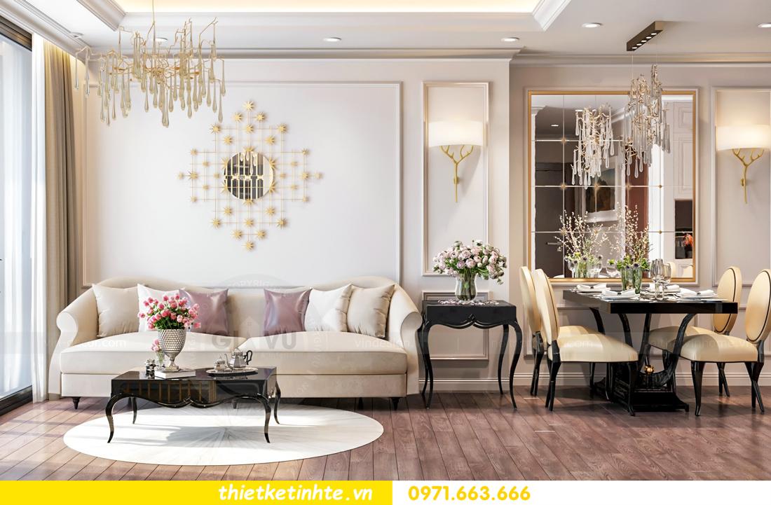 thiết kế nội thất chung cư Vinhomes Skylake tòa S1 căn 08A chị Trang 03