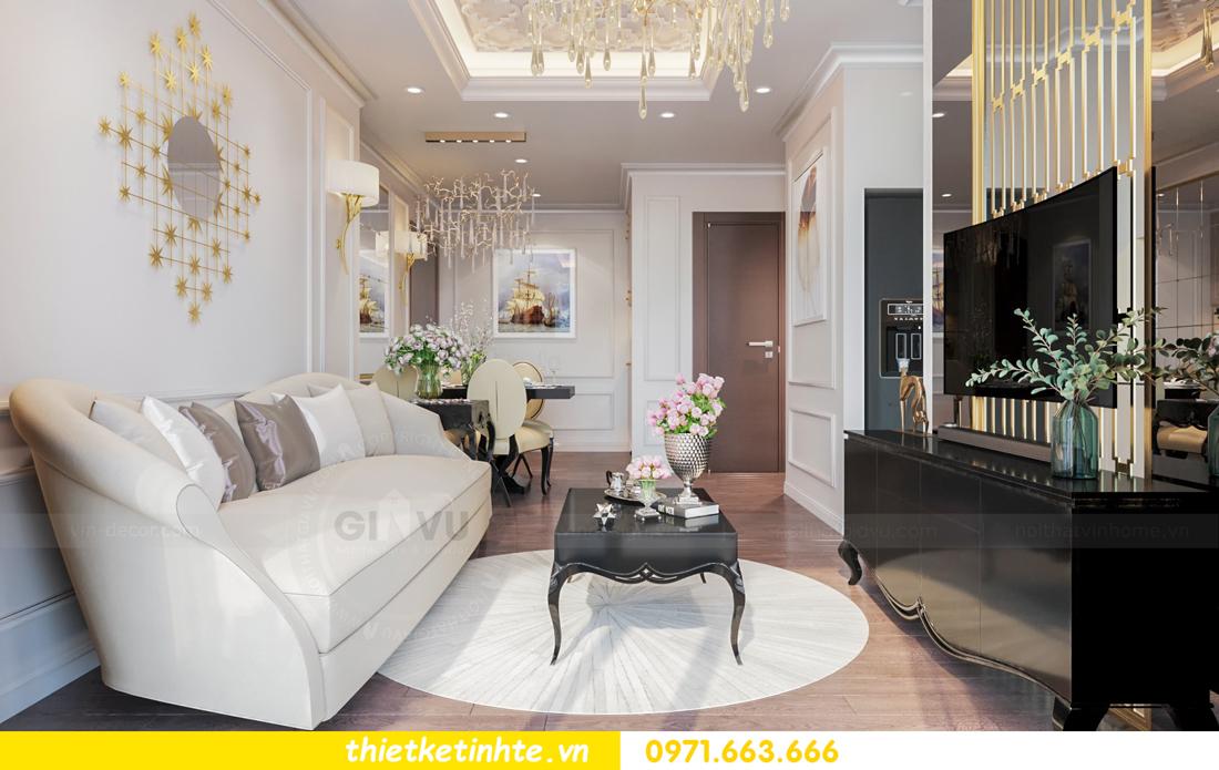 thiết kế nội thất chung cư Vinhomes Skylake tòa S1 căn 08A chị Trang 04