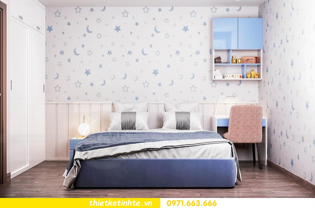 thiết kế nội thất chung cư Vinhomes Skylake tòa S1 căn 08A chị Trang 07