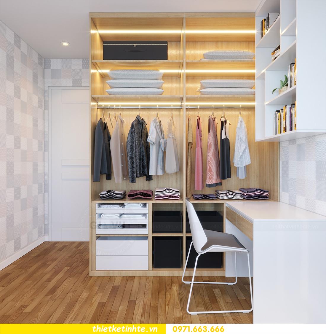 thiết kế nội thất tòa C7 căn 05 chung cư D Capitale 10