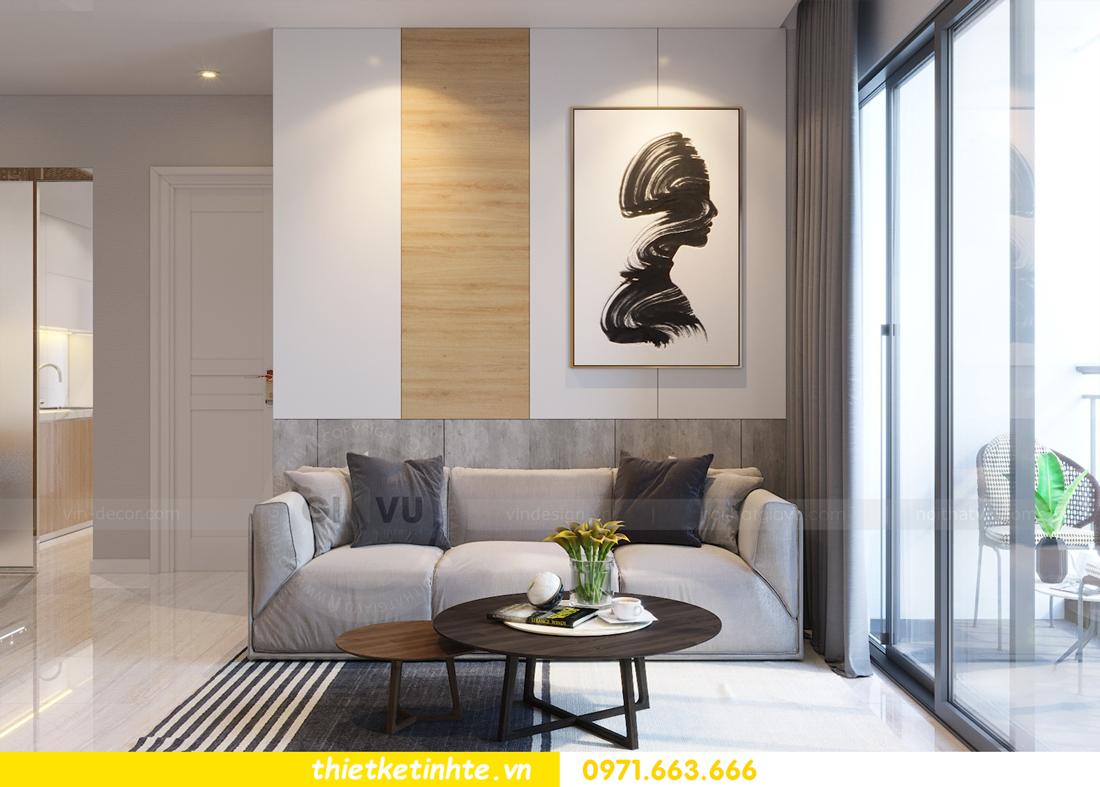 thiết kế nội thất tòa C7 căn 05 chung cư D Capitale 3