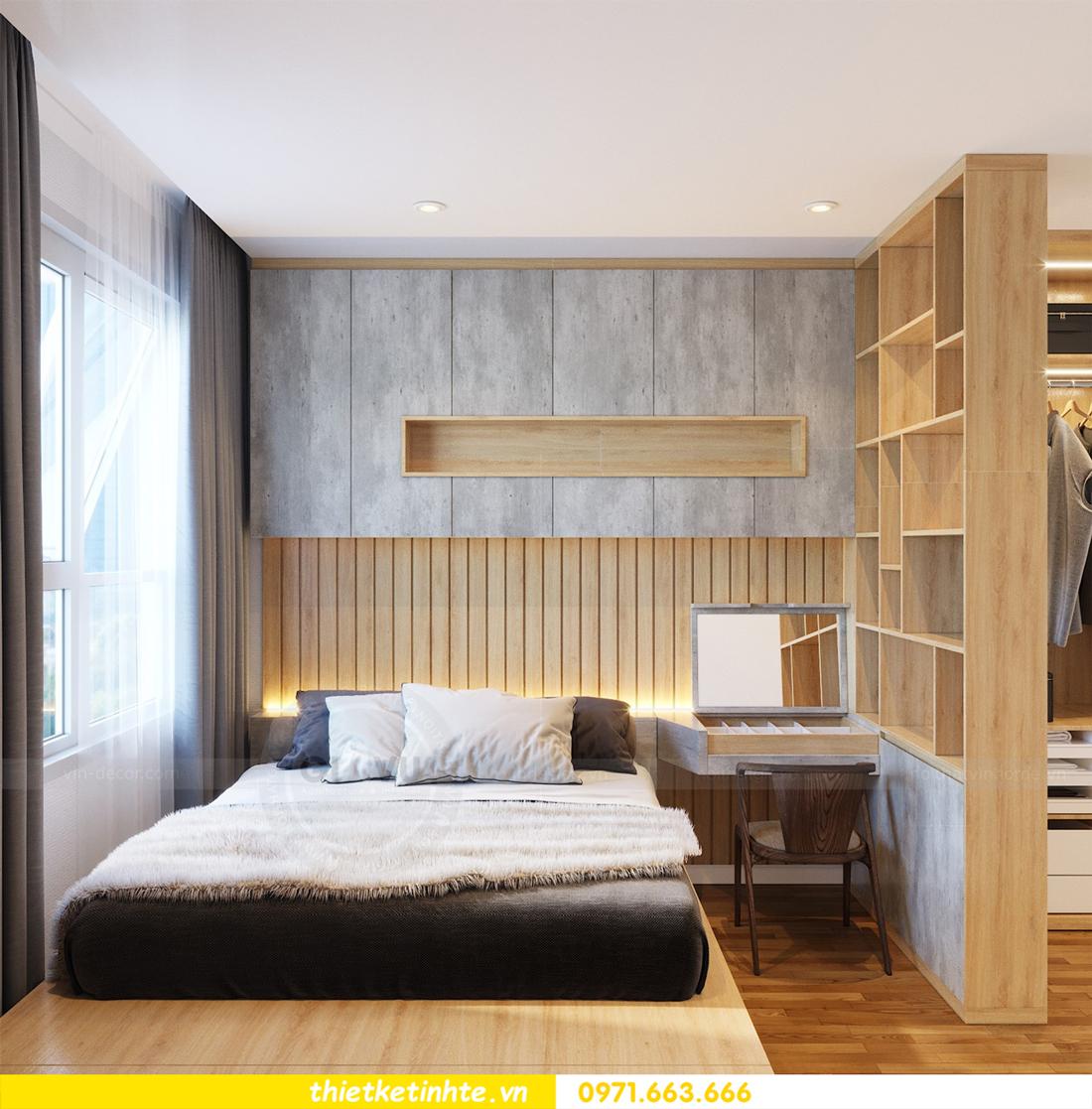 thiết kế nội thất tòa C7 căn 05 chung cư D Capitale 7