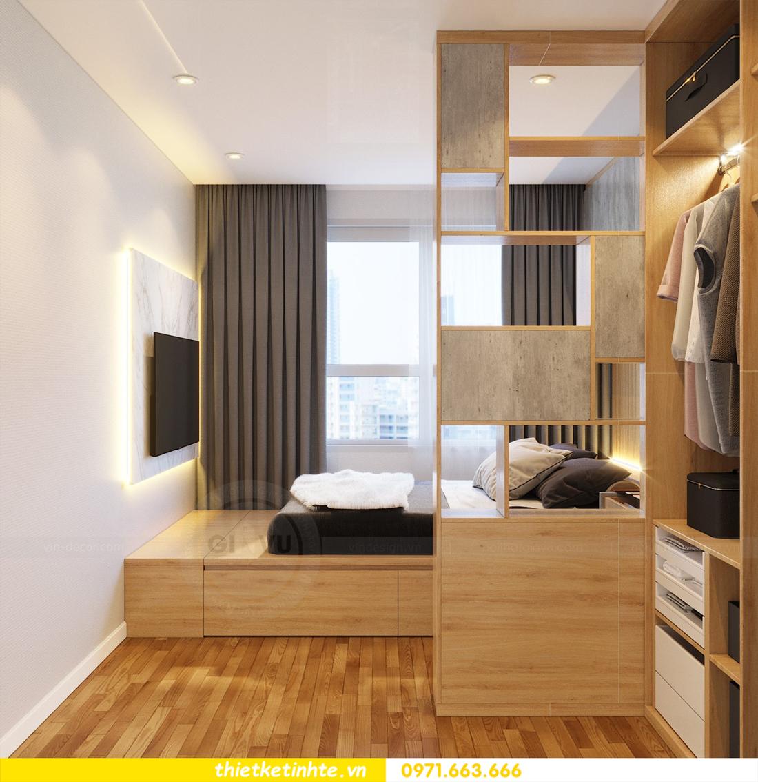 thiết kế nội thất tòa C7 căn 05 chung cư D Capitale 9