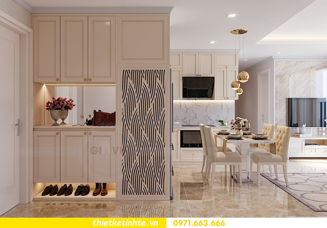 thiết kế thi công nội thất chung cư hiện đại DCapitale tòa C7 căn 09 1