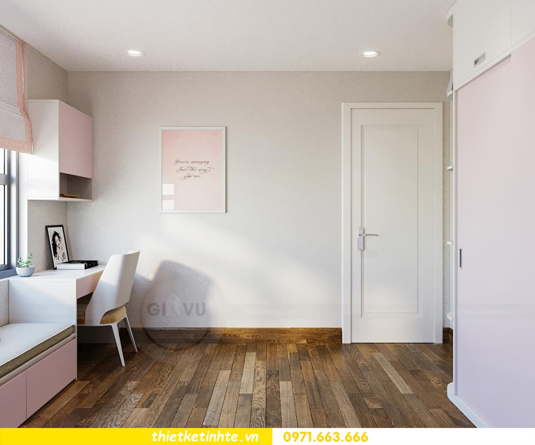 thiết kế thi công nội thất chung cư hiện đại DCapitale tòa C7 căn 09 10