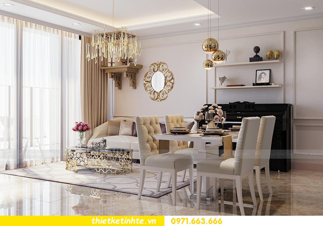 thiết kế thi công nội thất chung cư hiện đại DCapitale tòa C7 căn 09 2