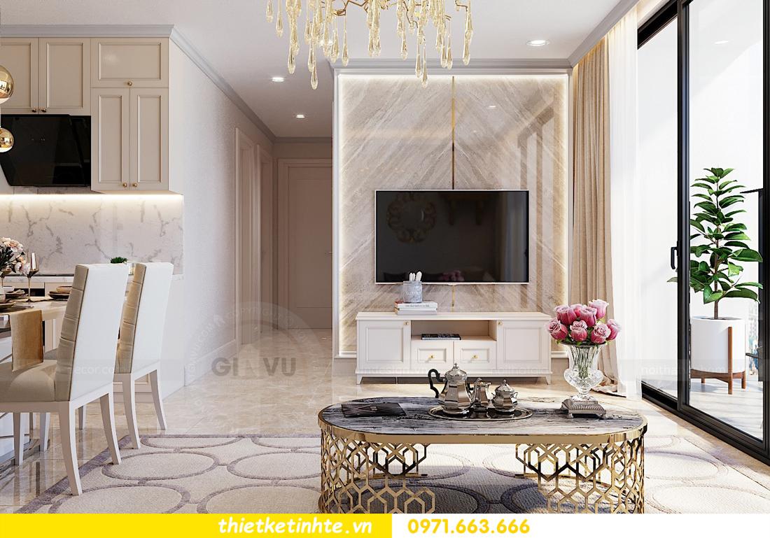 thiết kế thi công nội thất chung cư hiện đại DCapitale tòa C7 căn 09 3