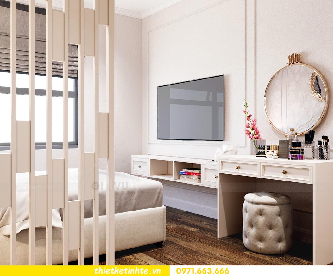 thiết kế thi công nội thất chung cư hiện đại DCapitale tòa C7 căn 09 6