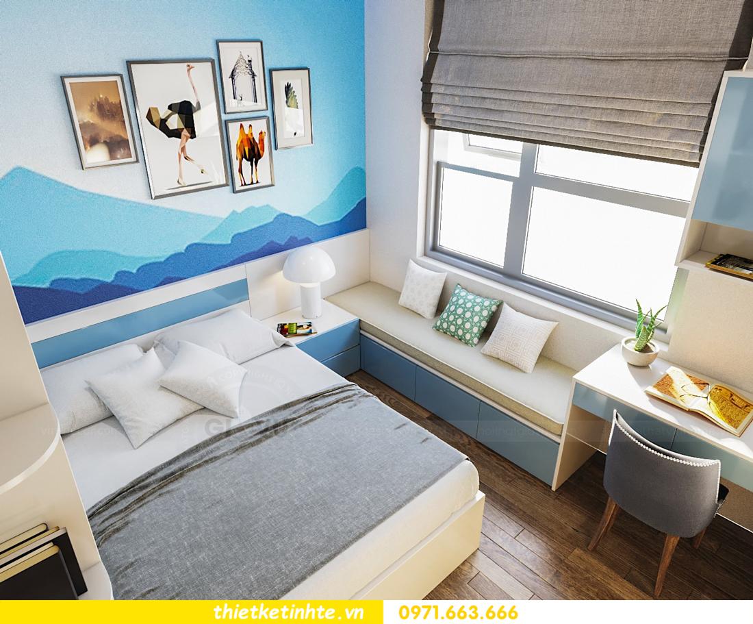 thiết kế thi công nội thất chung cư hiện đại DCapitale tòa C7 căn 09 7