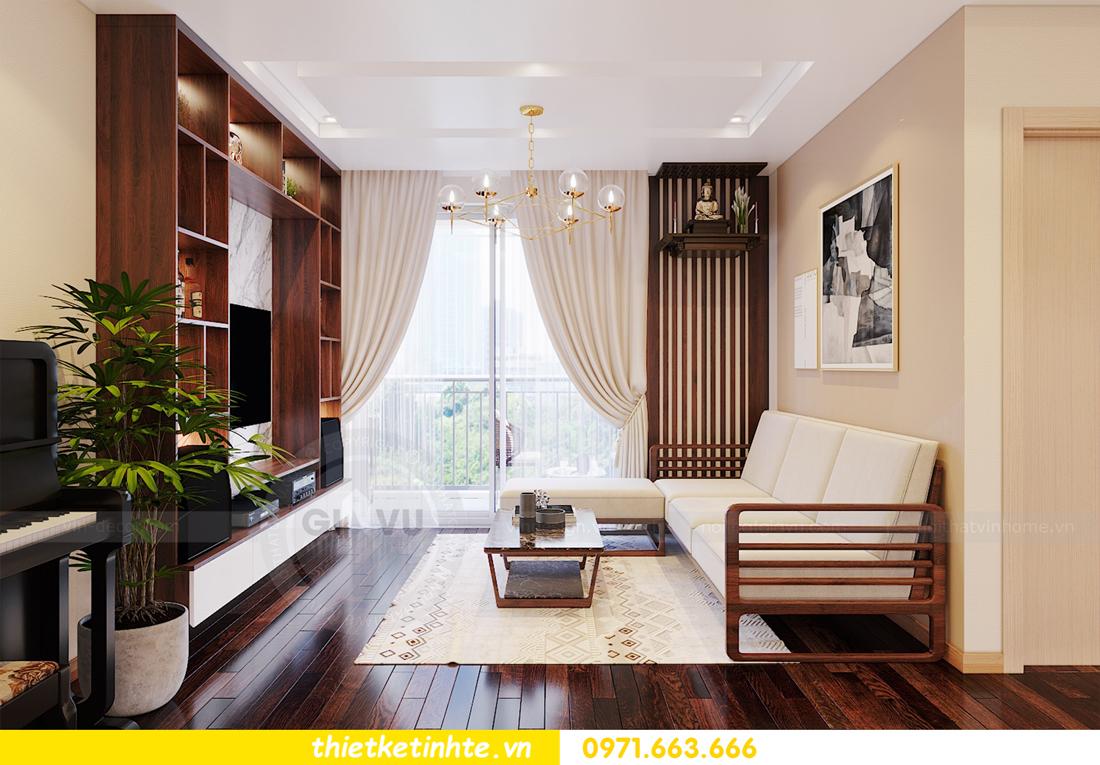 thiết kế thi công nội thất chung cư Skylake căn 2 ngủ 03