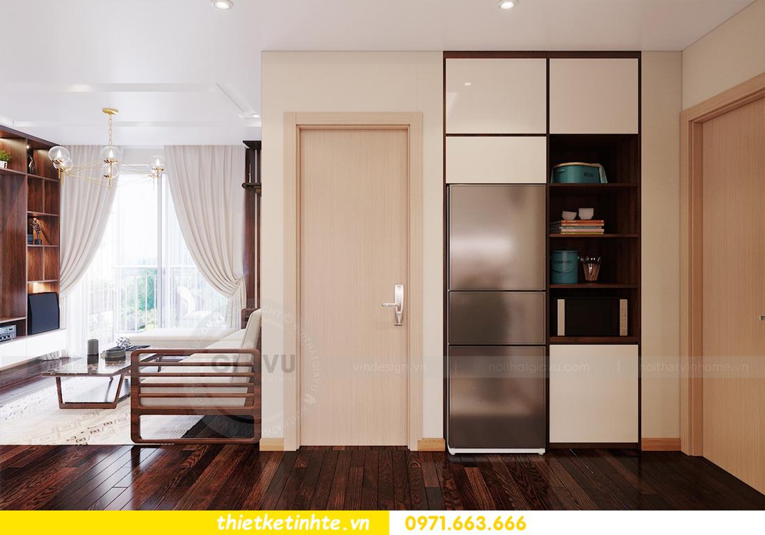 thiết kế thi công nội thất chung cư Skylake căn 2 ngủ 05