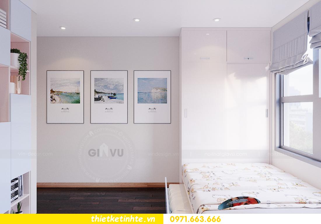 thiết kế thi công nội thất chung cư Skylake căn 2 ngủ 13