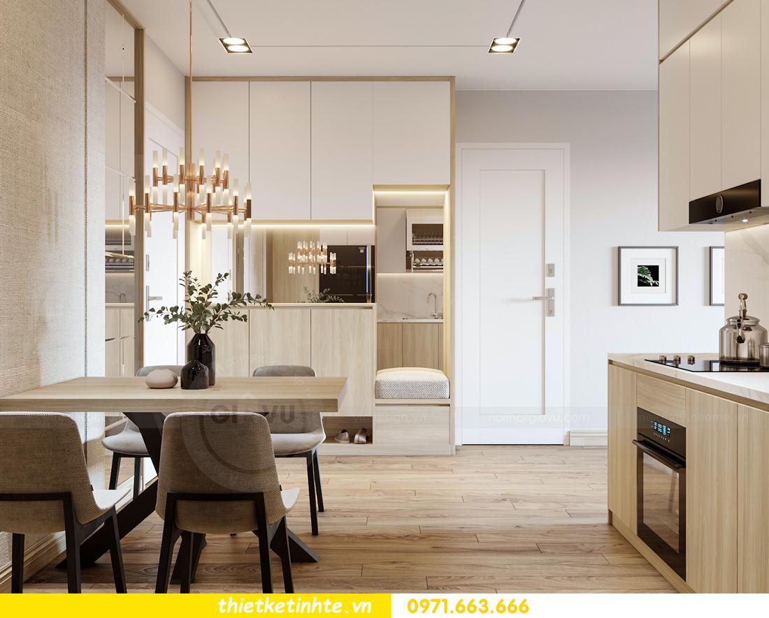 mẫu thiết kế nội thất căn hộ chung cư Skylake 01