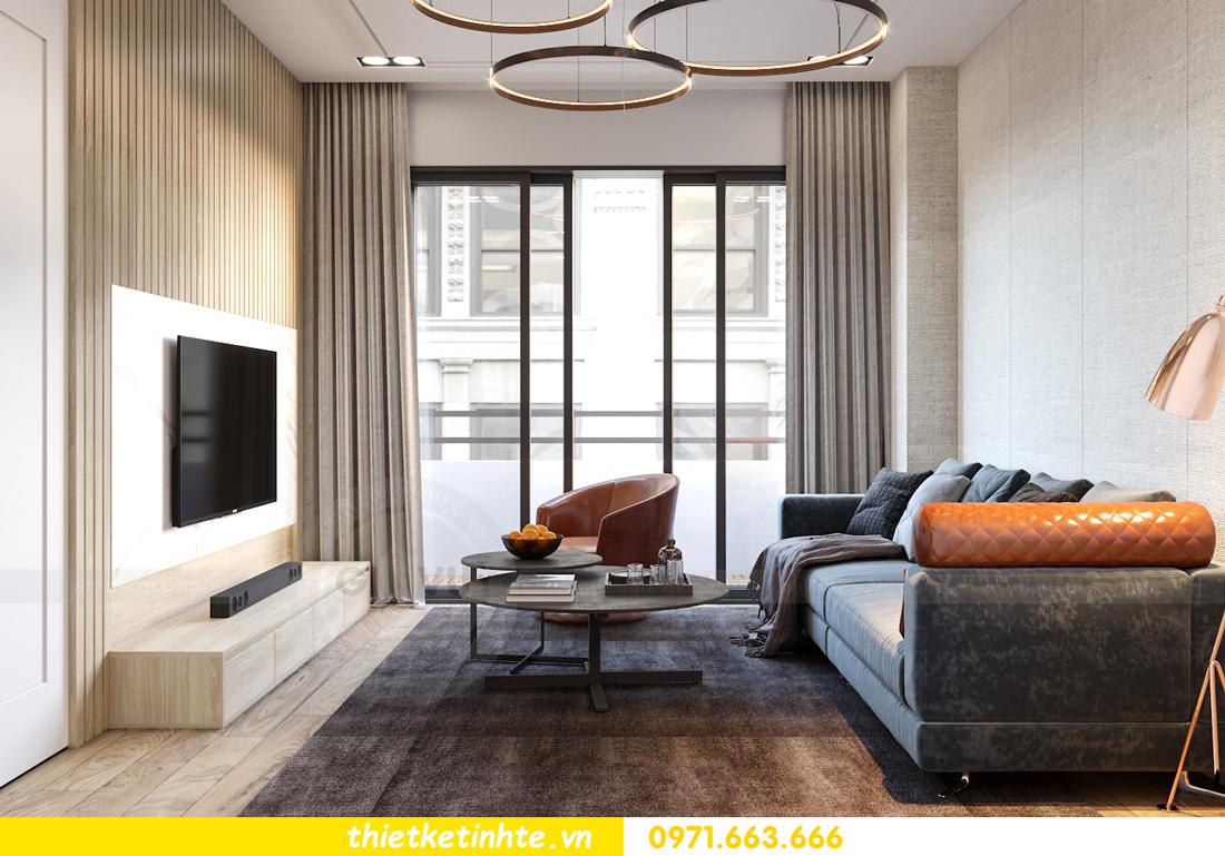 mẫu thiết kế nội thất căn hộ chung cư Skylake 03