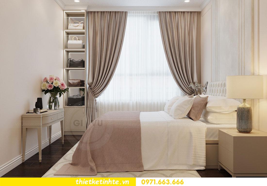 thiết kế nội thất chung cư 2 phòng ngủ đẹp hiện đại nhà chị Nụ 06