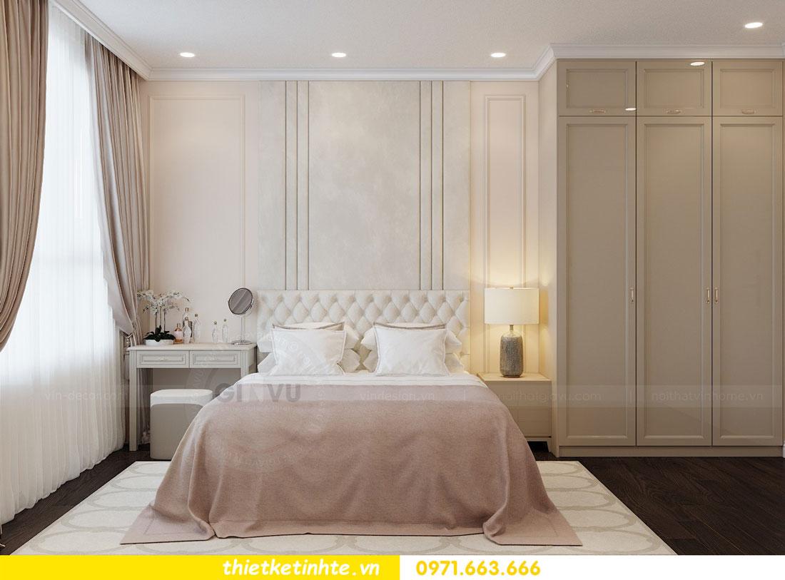 thiết kế nội thất chung cư 2 phòng ngủ đẹp hiện đại nhà chị Nụ 07