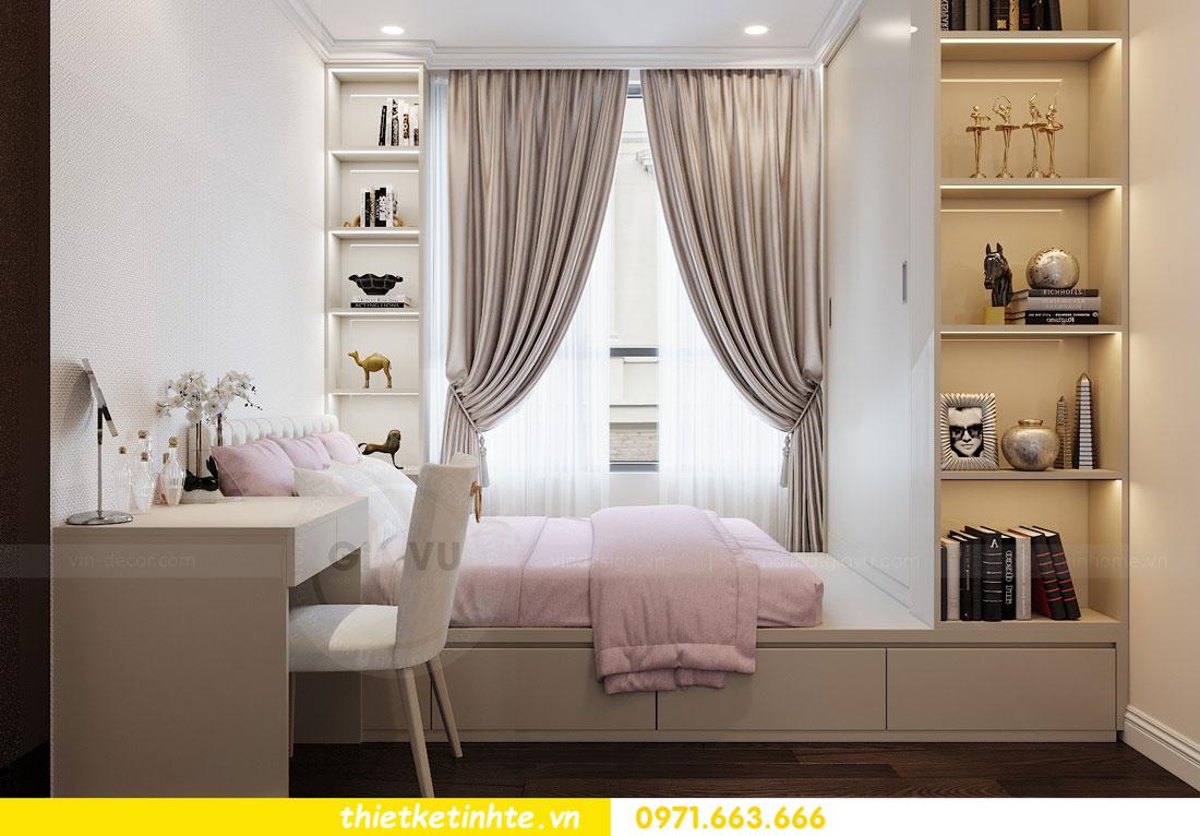 thiết kế nội thất chung cư 2 phòng ngủ đẹp hiện đại nhà chị Nụ 08