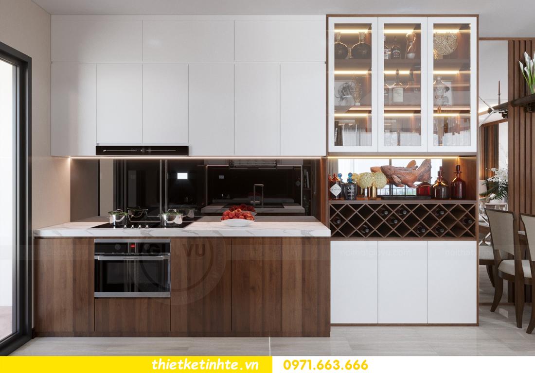 thiết kế nội thất chung cư D Capitale tòa C3 căn 10 nhà chị hằng 02