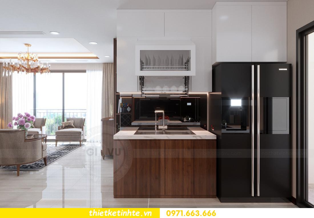 thiết kế nội thất chung cư D Capitale tòa C3 căn 10 nhà chị hằng 03