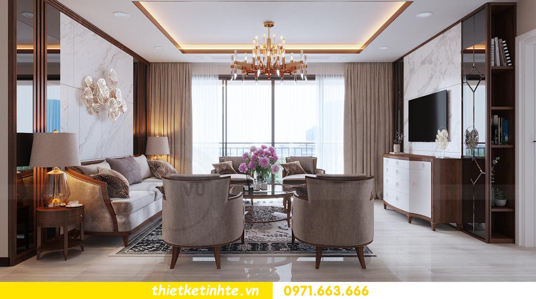 thiết kế nội thất chung cư D Capitale tòa C3 căn 10 nhà chị hằng 04